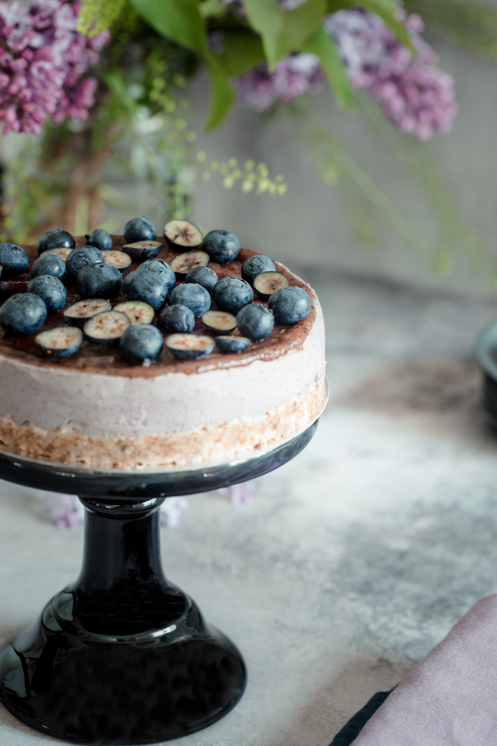 recept raw food - somrig cheesecake